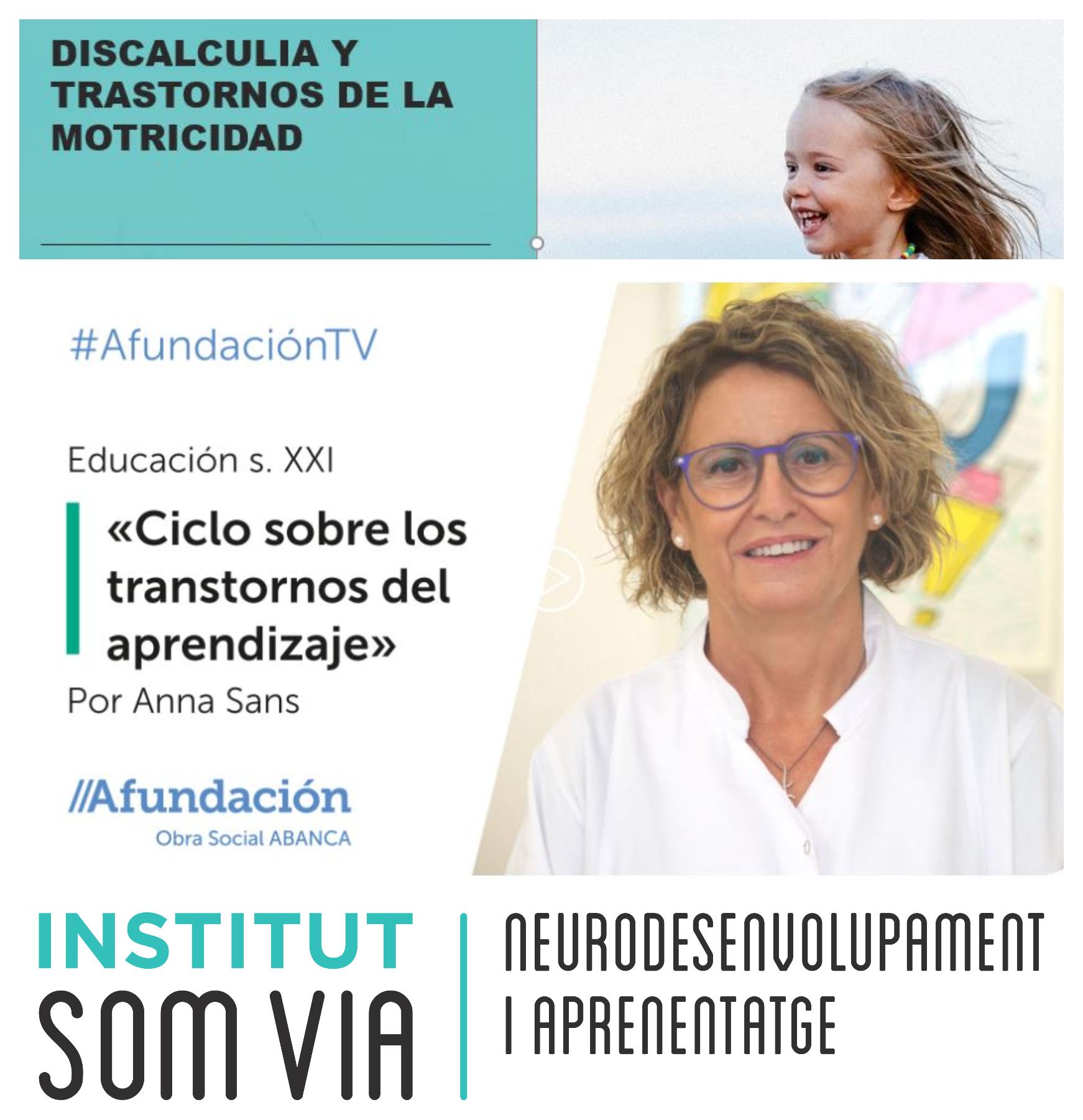 AVUI, AL PROGRAMA EDUCACIÓN S.XXI 'LA DISCALCULIA Y LOS TRASTORNOS DE LA MOTRICIDAD'