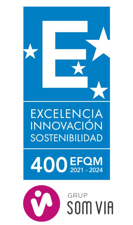 El GRUPO SOM VIA OBTIENE EL SELLO DE EXCELENCIA EUROPEO EFQM 400+.